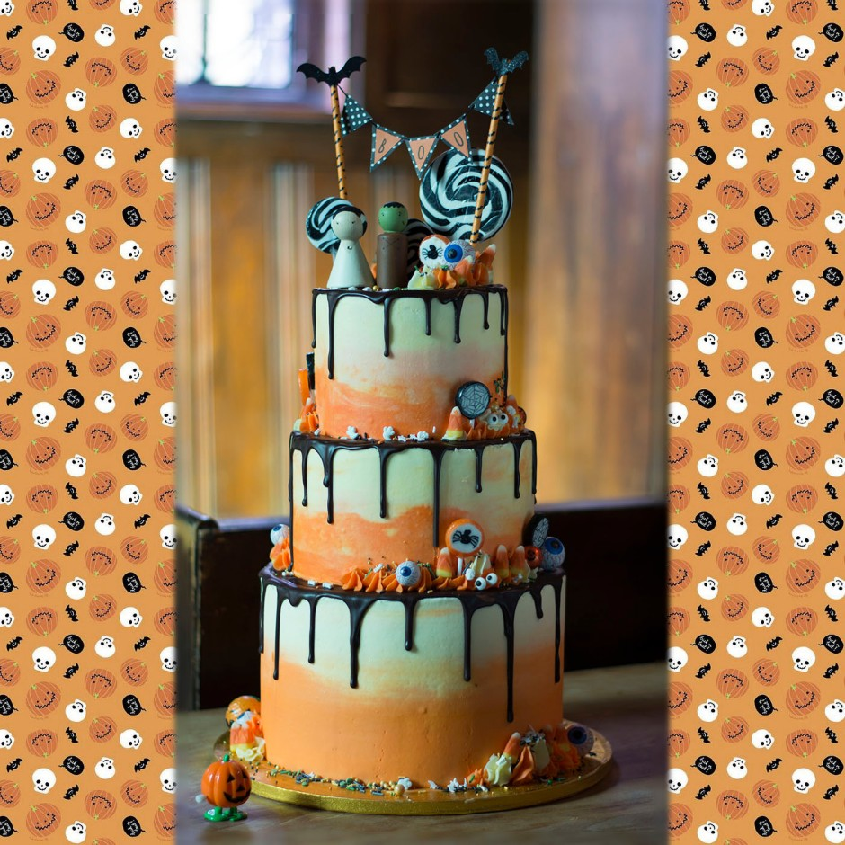 halloweddingcake